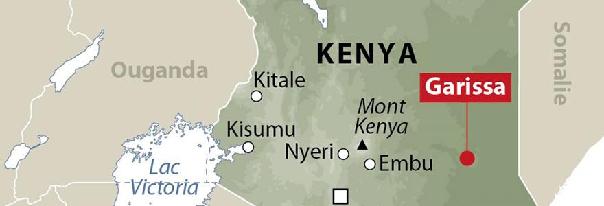 la carte de kenya
